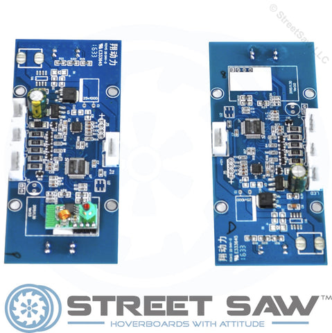 Image of Blue Hoverboard Circuit Board Gyroscopes