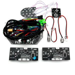 Hoverboard Circuit Board Replacement Parts Kit + Bluetooth (Black, YST)