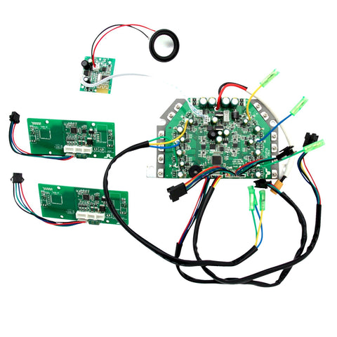 Hoverboard Circuit Board Replacement Parts Kit + Bluetooth (Green, TaoTao)