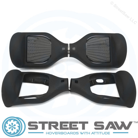 Image of Hoverboard Silicone Cover Rubber Black