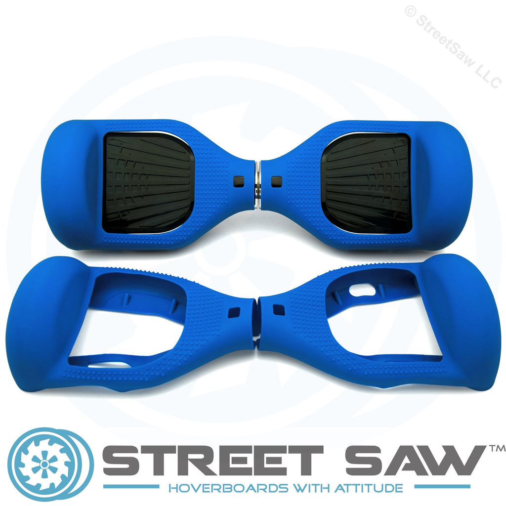 Hoverboard Silicone Cover Rubber Blue