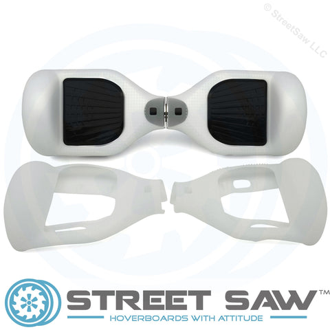 Hoverboard Silicone Cover Rubber Clear