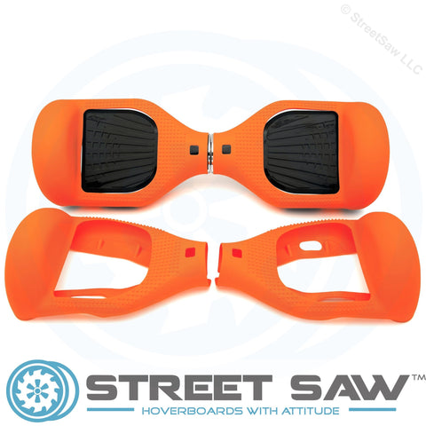 Image of Hoverboard Silicone Cover Rubber Orange