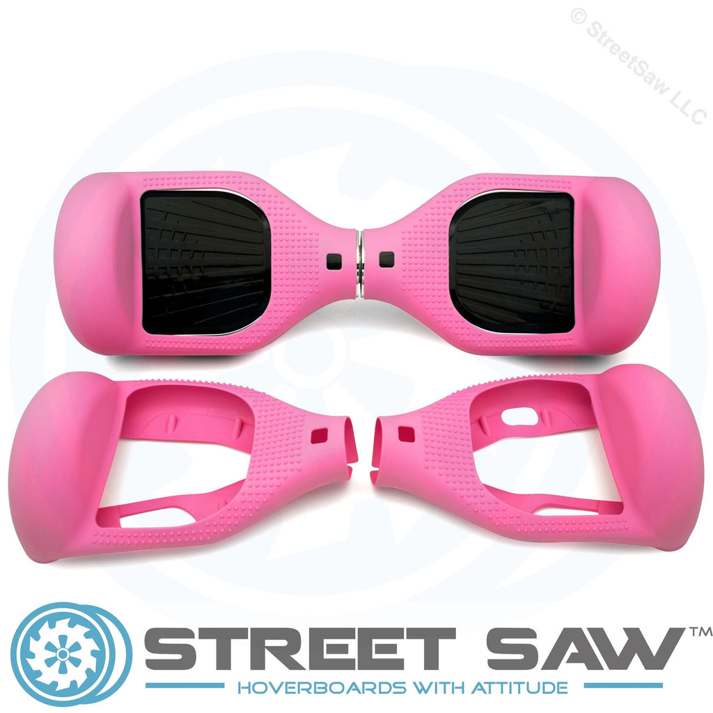 Hoverboard Silicone Cover Rubber Pink