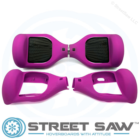 Hoverboard Silicone Cover Rubber Purple