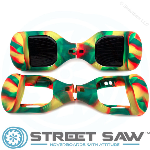 Image of Hoverboard Silicone Cover Rubber Multicolor