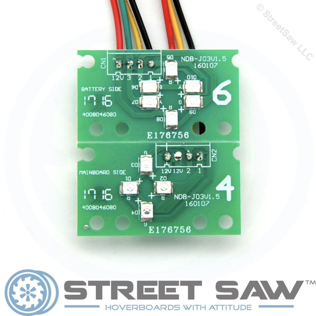 Hoverboard Circuit Board Replacement Kit 14pc Bluetooth Green Balance Scooter Repair Main Hover Indicator Light Parts Tap To Expand