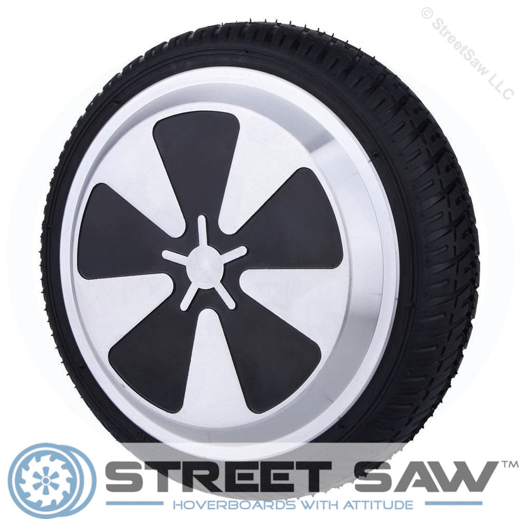 Replacement Wheel, Motor, & Tire for 6.5 Inch Hoverboards