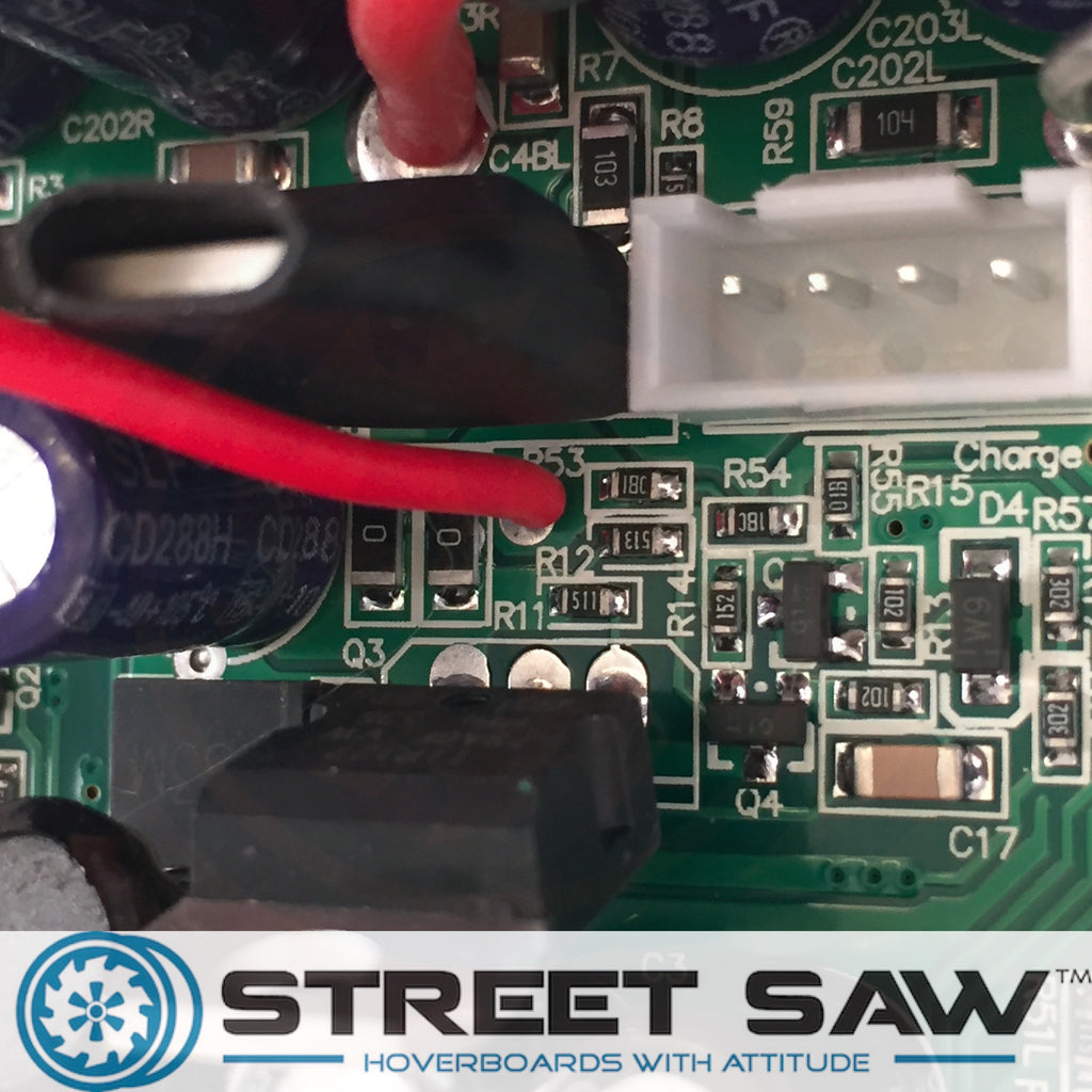 Hoverboard Motherboard Replacement Bluetooth Connection