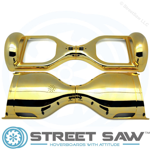 Image of Hoverboard Outer Shell Case Electroplate Gold