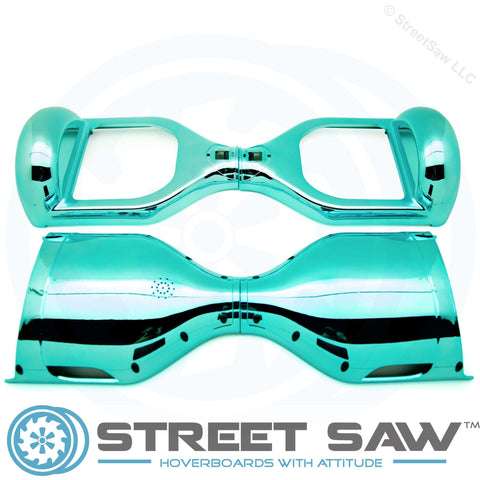 Hoverboard Outer Shell Case Electroplate Blue