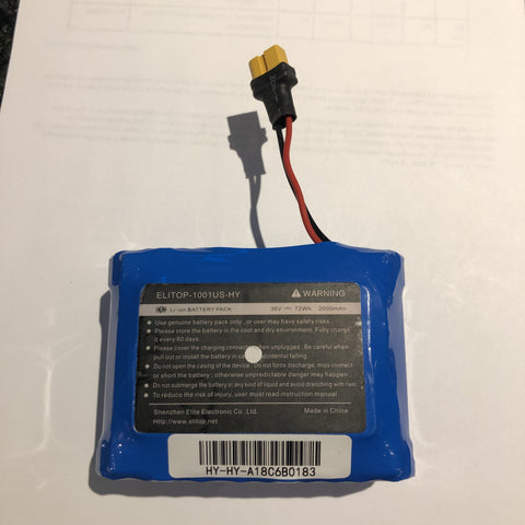 Image of Elitop-1001US-HY Hoverboard Battery Replacement