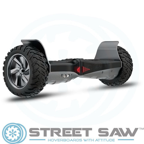 Image of RockSaw Off Road Hoverboard Back Angle