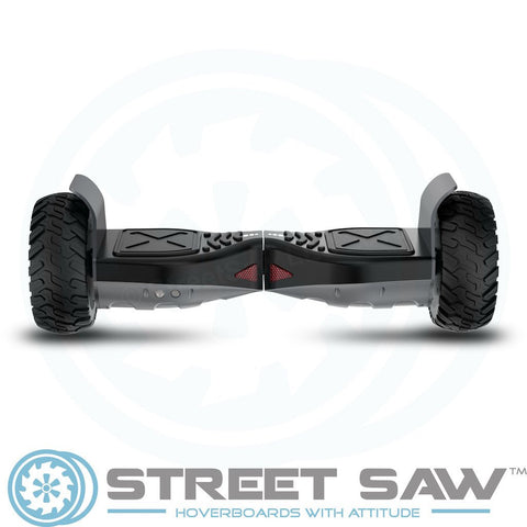 Image of RockSaw Off Road Hoverboard Back