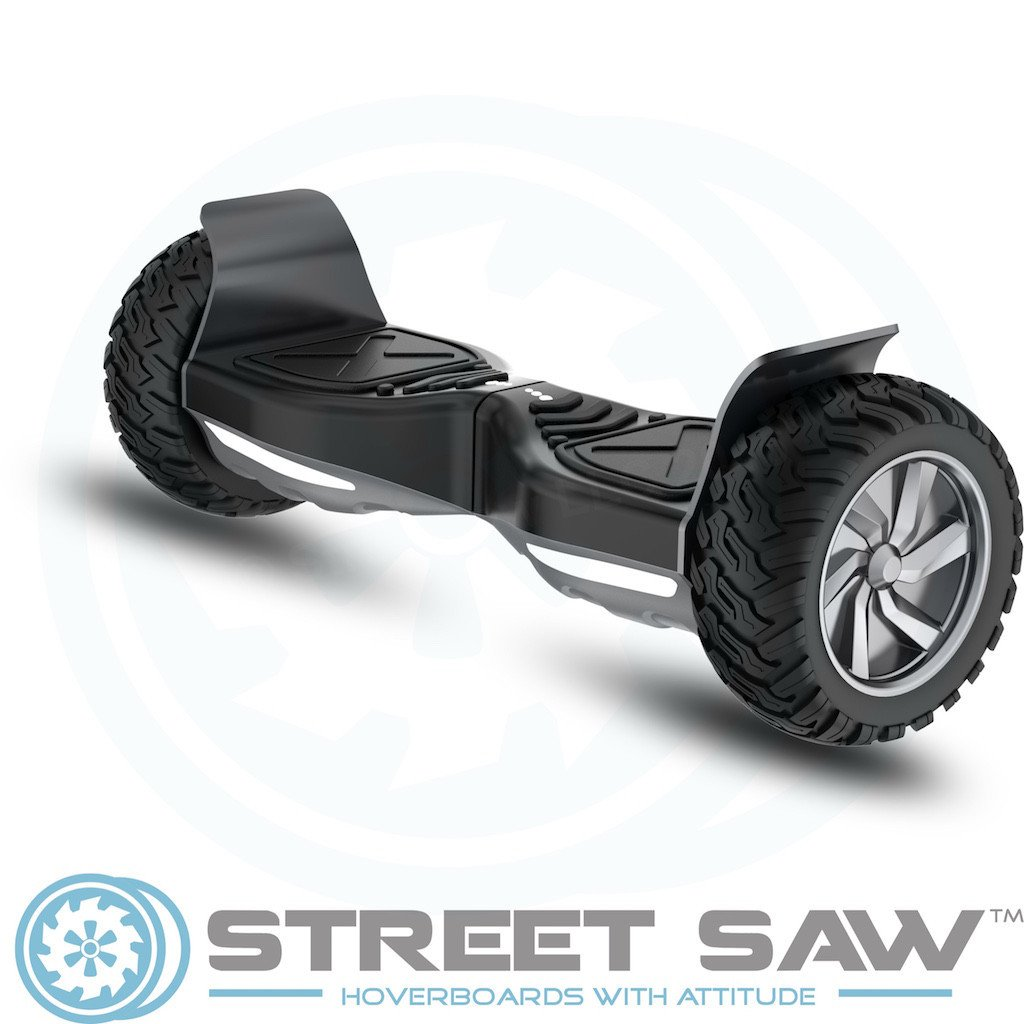 RockSaw Off Road Hoverboard Front Angle