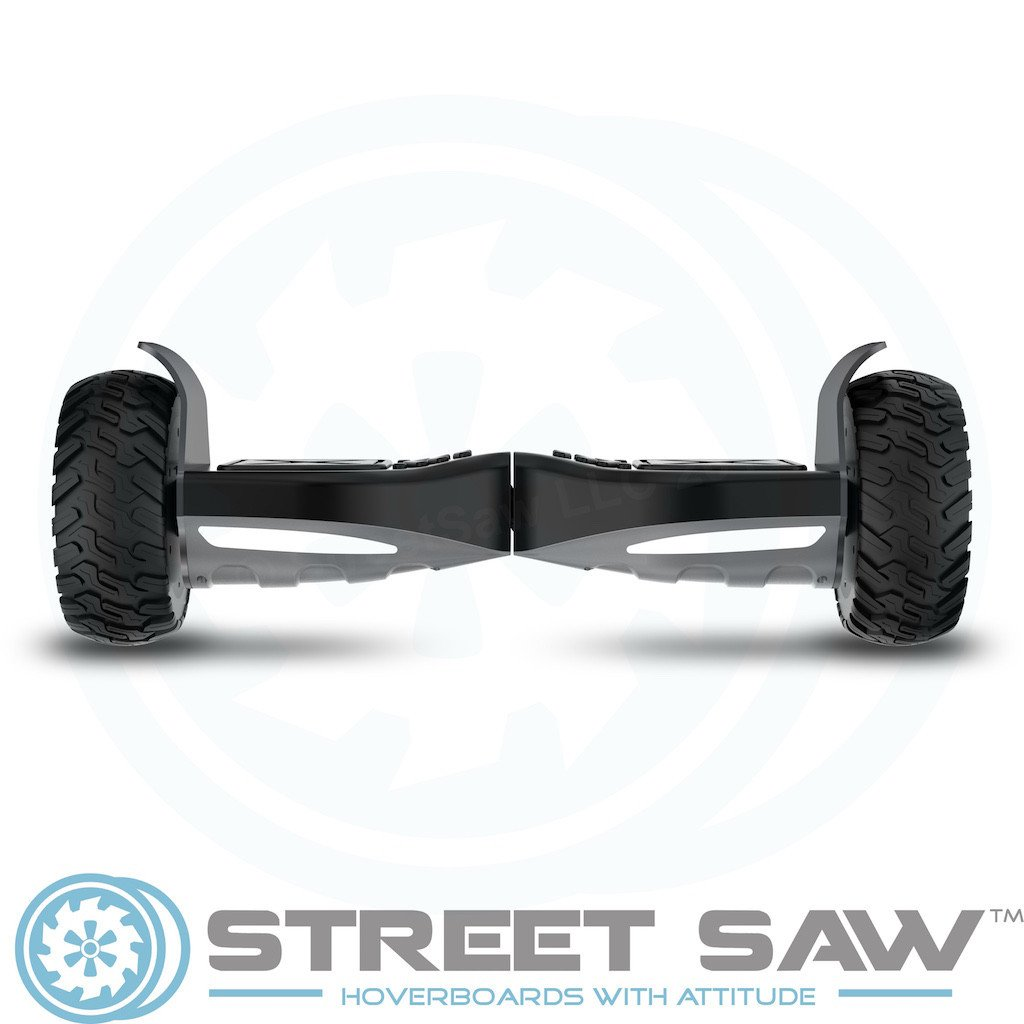 RockSaw Off Road Hoverboard Front Flat