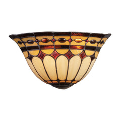 Diamond Ring 2-Light Sconce In Burnished Copper