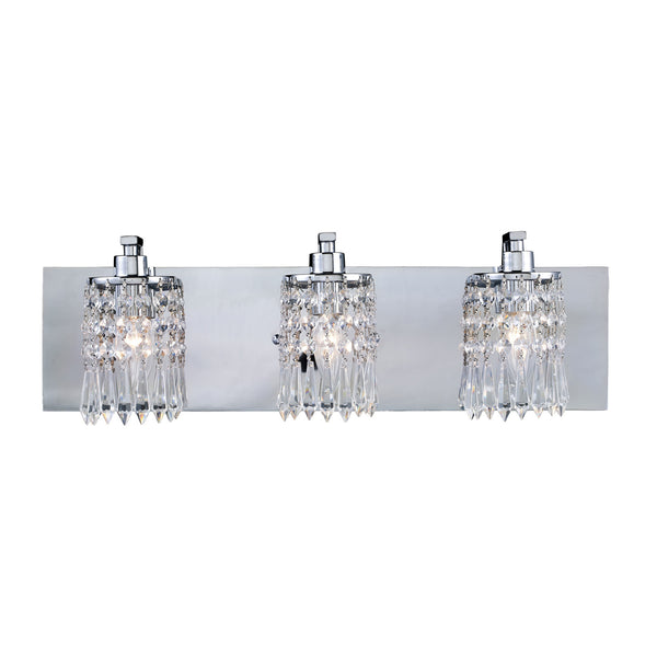 Optix 3-Light Vanity In Polished Chrome