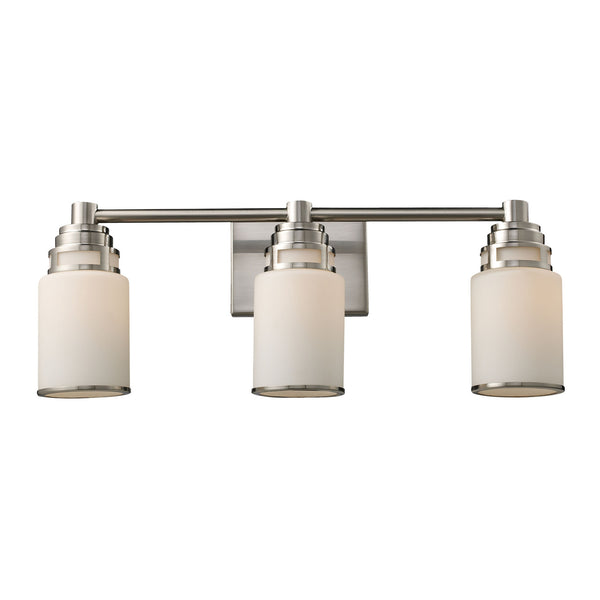 Bryant 3-Light Vanity In Satin Nickel