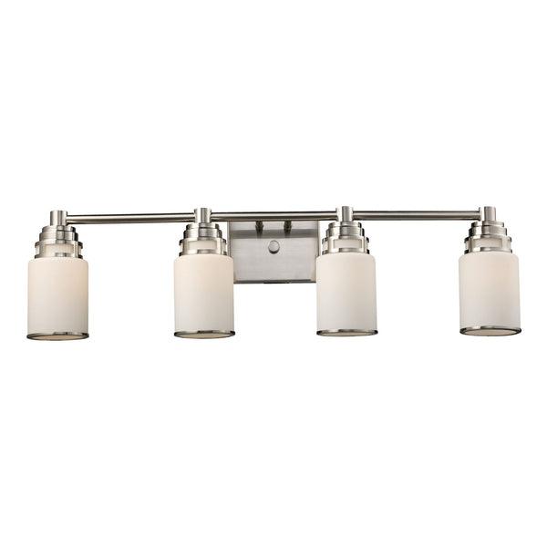 Bryant 4-Light Vanity In Satin Nickel