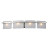 Briston 4-Light Vanity In Satin Nickel