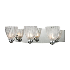 Lindale 3 Light Vanity In Polished Chrome