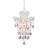 Elise 1-Light Pendant In Antique White