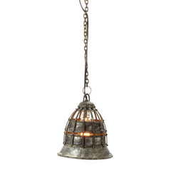 Flared Fortress Pendant Light