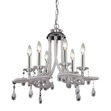 Clear Acrylic Mini Chandelier