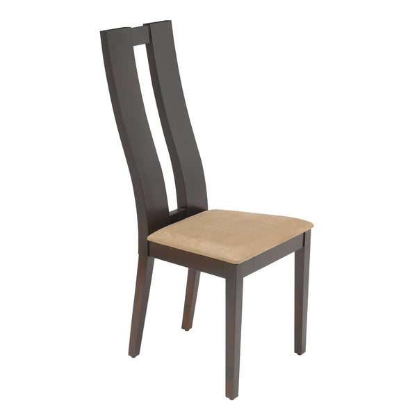 Slim Side Chair in Dark Roast