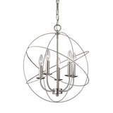 Williamsport 5 Light Chandelier In Brushed Nickel