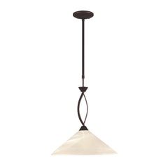 1 Light Pendant In Oil Rubbed Bronze