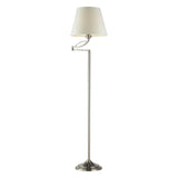 Elysburg 1 Light Floor Lamp In Satin Nickel