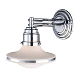 Retrospective 1-Light Sconce In Polishe Chrome
