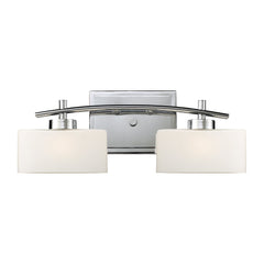 Eastbrook 2-Light Vanity In Polished Chrome