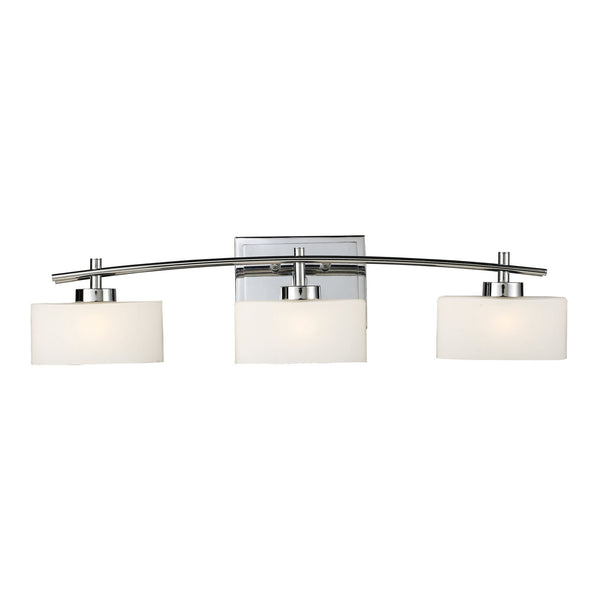 Eastbrook 3-Light Vanity In Polished Chrome