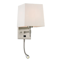 Derringer Collection 2 light sconce in Brushed Nickel