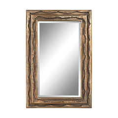 "Aged Gold Thierry Mirror - 40""x27"""