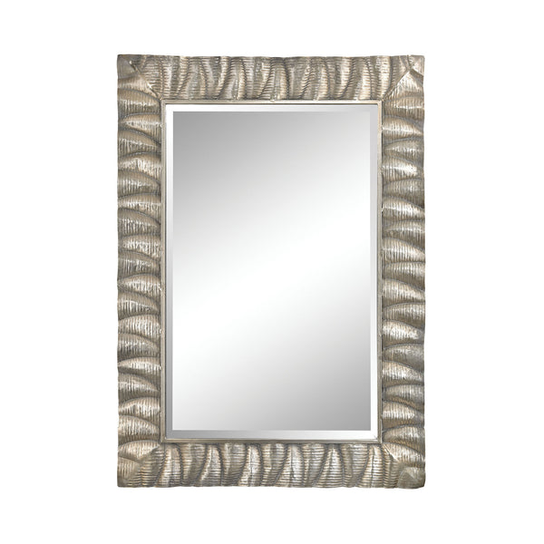 "Aged Silver Canal Mirror - 50""x35"""