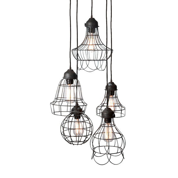Five-Wire Pendant Lamp