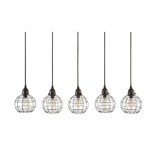 Five-Wire Ball Pendant Lamp