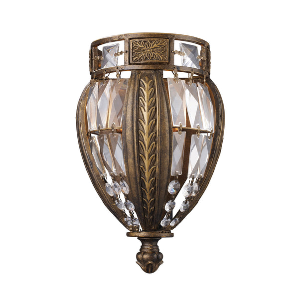 1 Light Sconce In Antique Bronze