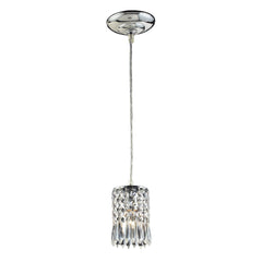 1 Light Pendant In Polished Chrome