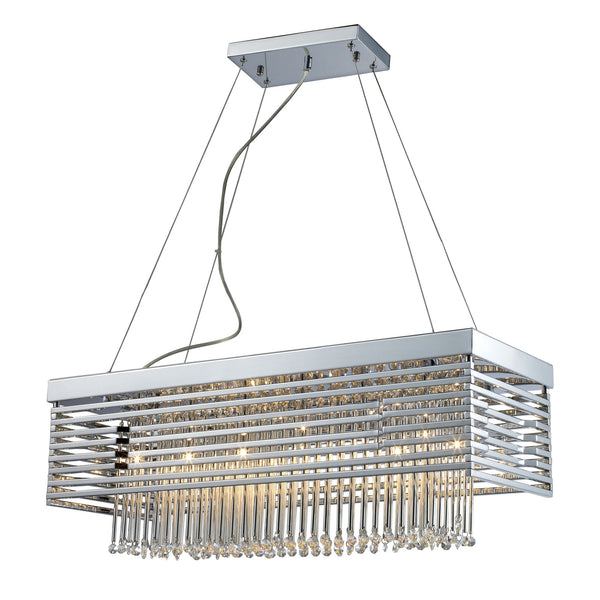 Cortina 12-Light Chandelier In Polished Chrome