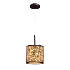 Medina 1-Light Pendant In Aged Bronze