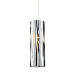 Chromia 1-Light Pendant In Polished Chrome
