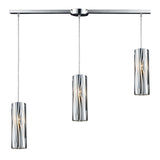 Chromia 3-Light Pendant In Polished Chrome