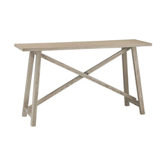 Grey Driftwood Finish Console Table