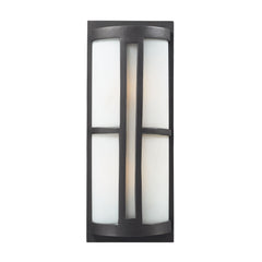 2- Light Outdoor Sconce In Graphite