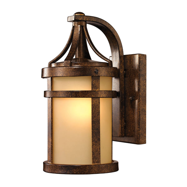 Winona Collection 1 light outdoor sconce in Hazelnut Bronze